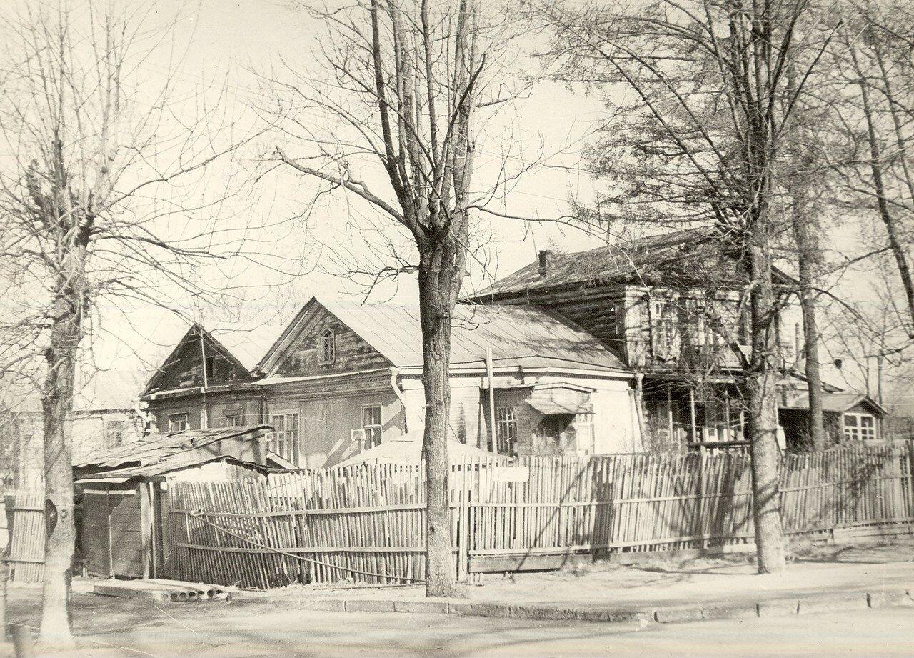 1972. Дом №1 по 6-му Лучевому, бывшая усадьба