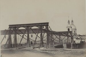 21. Цепной мост у Летнего сада