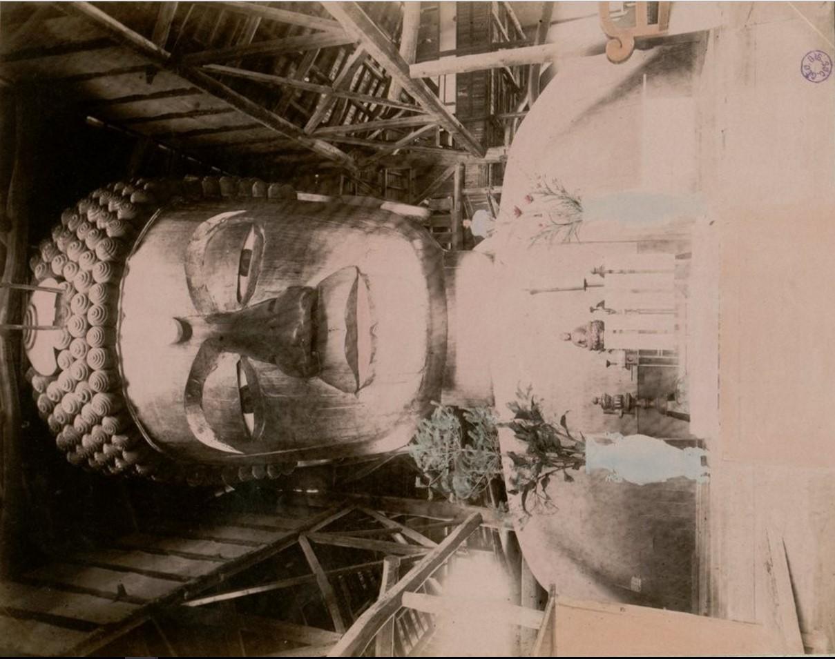Киото. Большой Будда