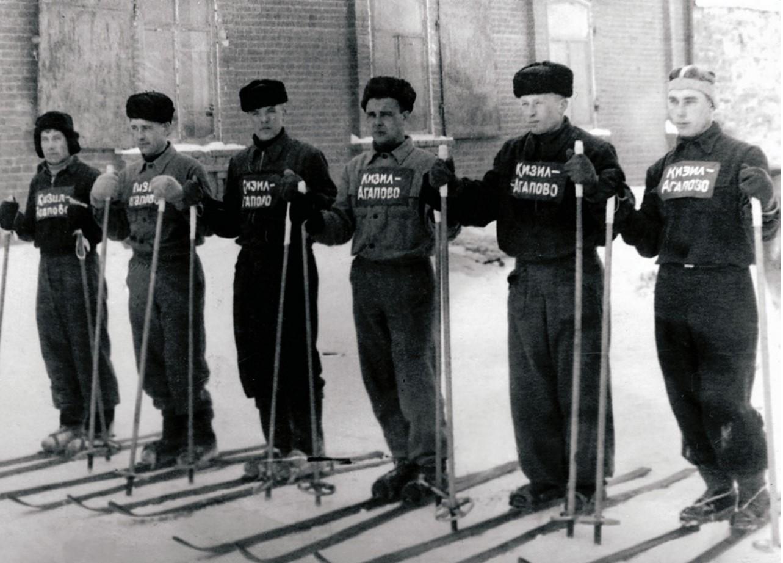 Соревнования лыжников Кизильского и Агаповского районов