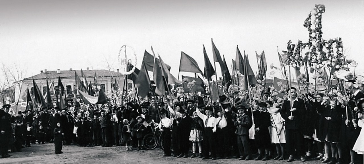Верхнеуральск. Первомайская демонстрация
