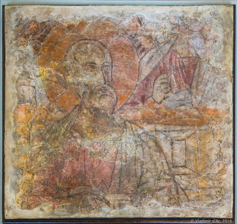Фрески Спасо-Преображенского собора в Переславле-Залесском
