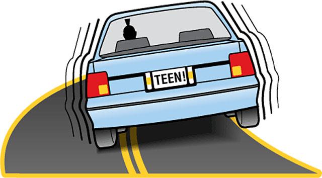 Мырзин спиздил эту плакатку о безопасной езде для подростков