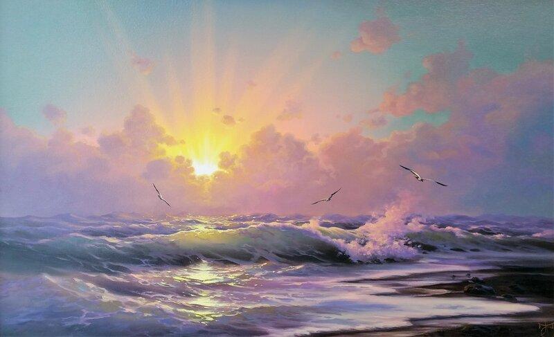 Свет небесный ...
