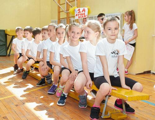 Соревнования в первых классах. Май, 2017
