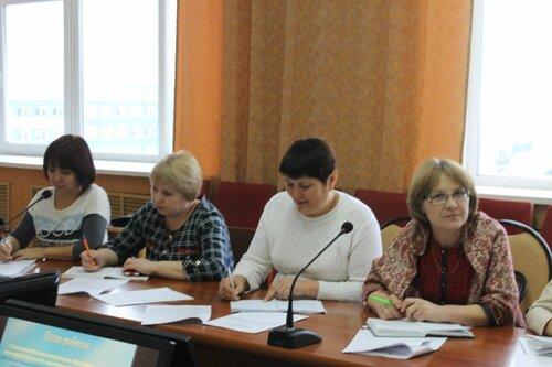 семинар Профсоюза образования в Комсомольском районе 06.12.2016