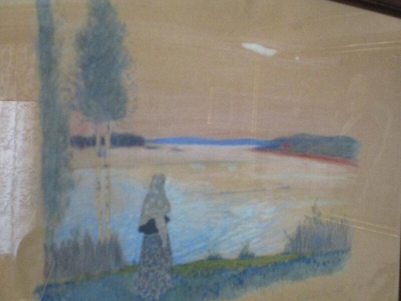 Рисунок М.В.Нестерова