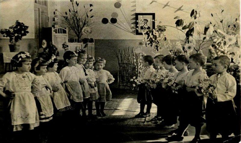 Детская тема 1930-х годов.