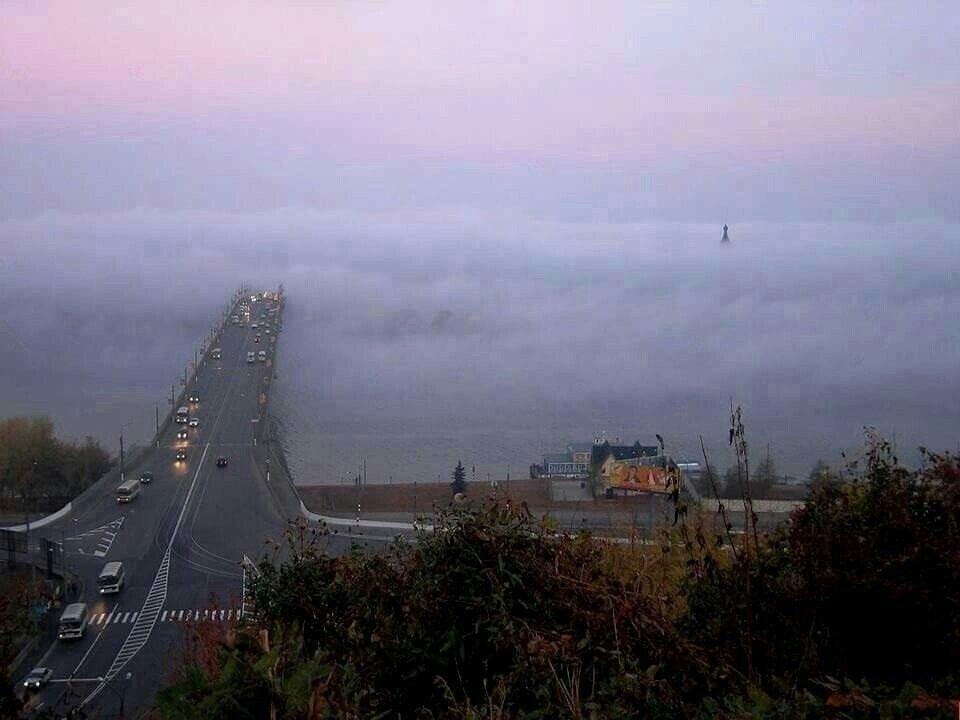 Мост в Верхний Новгород