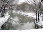 Леоновская роща у метро «Ботанический сад». Река Яуза