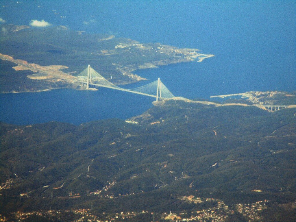 Bosphorus. Bridge of Sultan Selim the terrible (Yavuz sultan selim köprüsü)