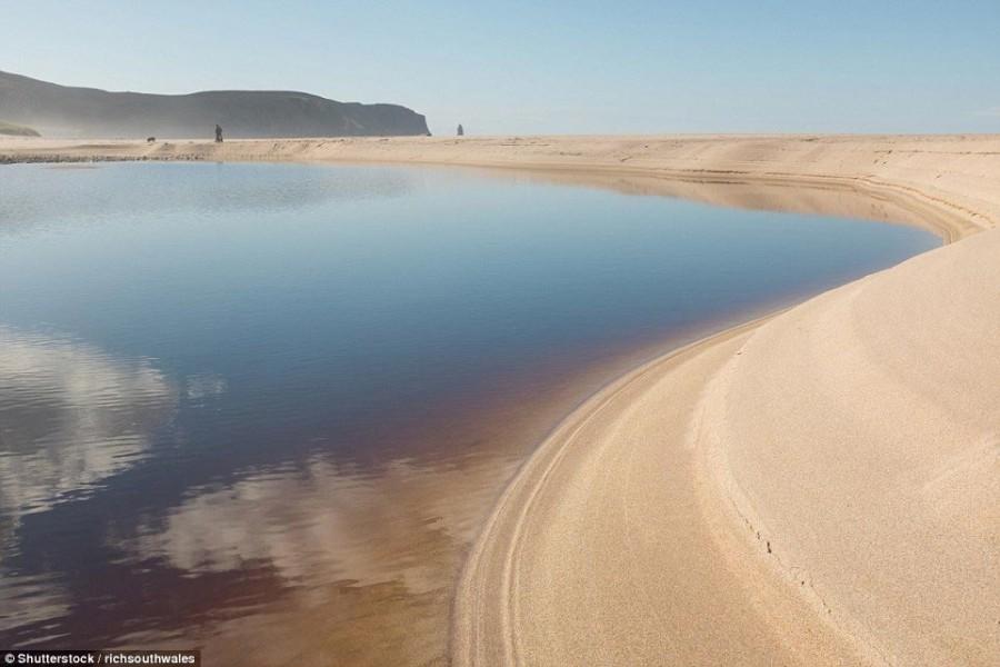 4. Sandwood Bay, Шотландия, Великобритания