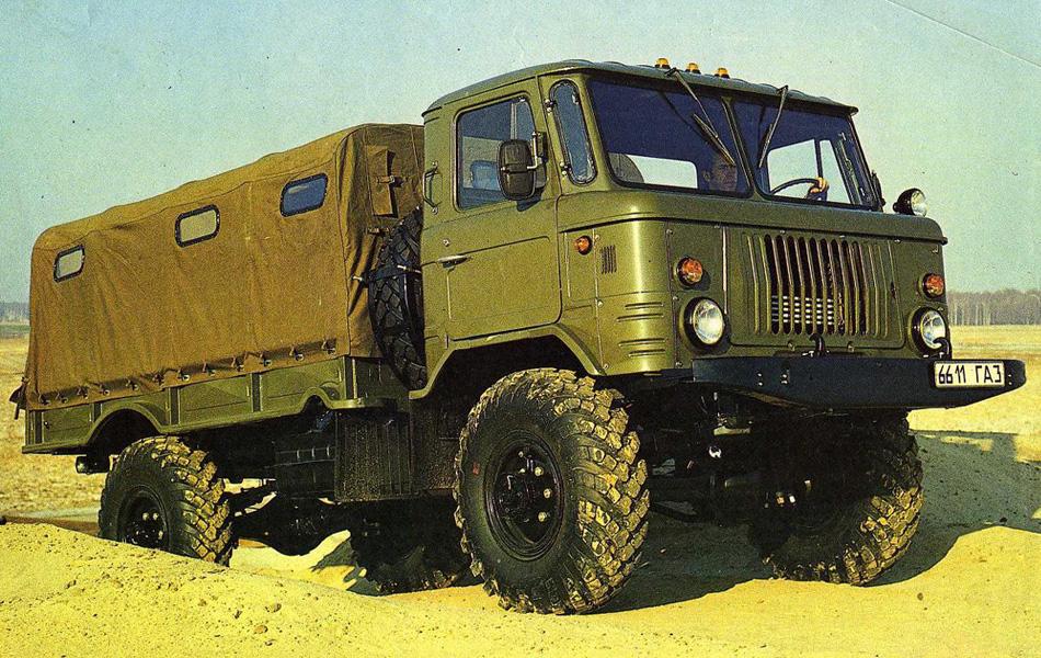 Аэротранспортабельный ГАЗ-62 проходил сравнительные испытания сMercedes-Benz Unimog&nbs