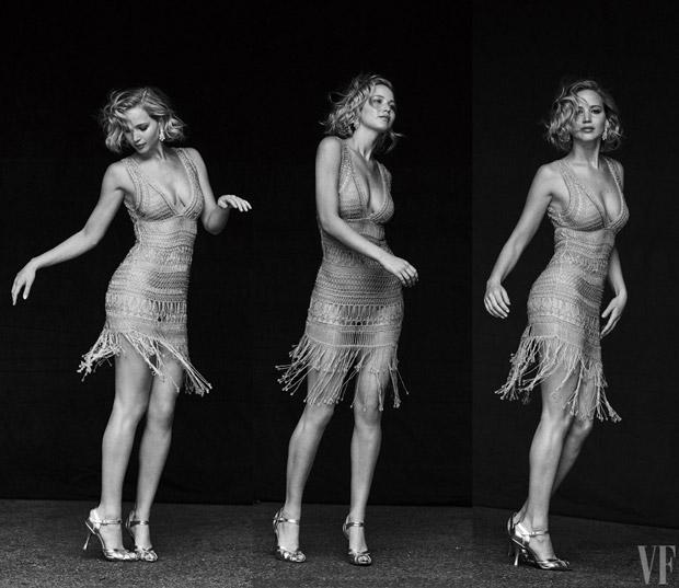 Дженнифер Лоуренс в Vanity Fair