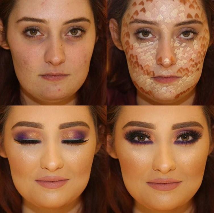 7. Нельзя недооценивать силу макияжа