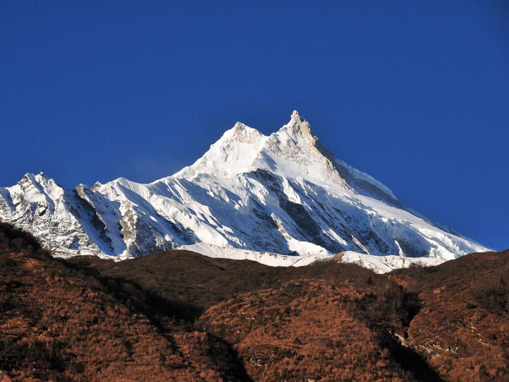 № 7. Дхаулагири I (Гималаи) — 8167 метров Дхаулагири I — наивысшая точка горного массива Дхаула