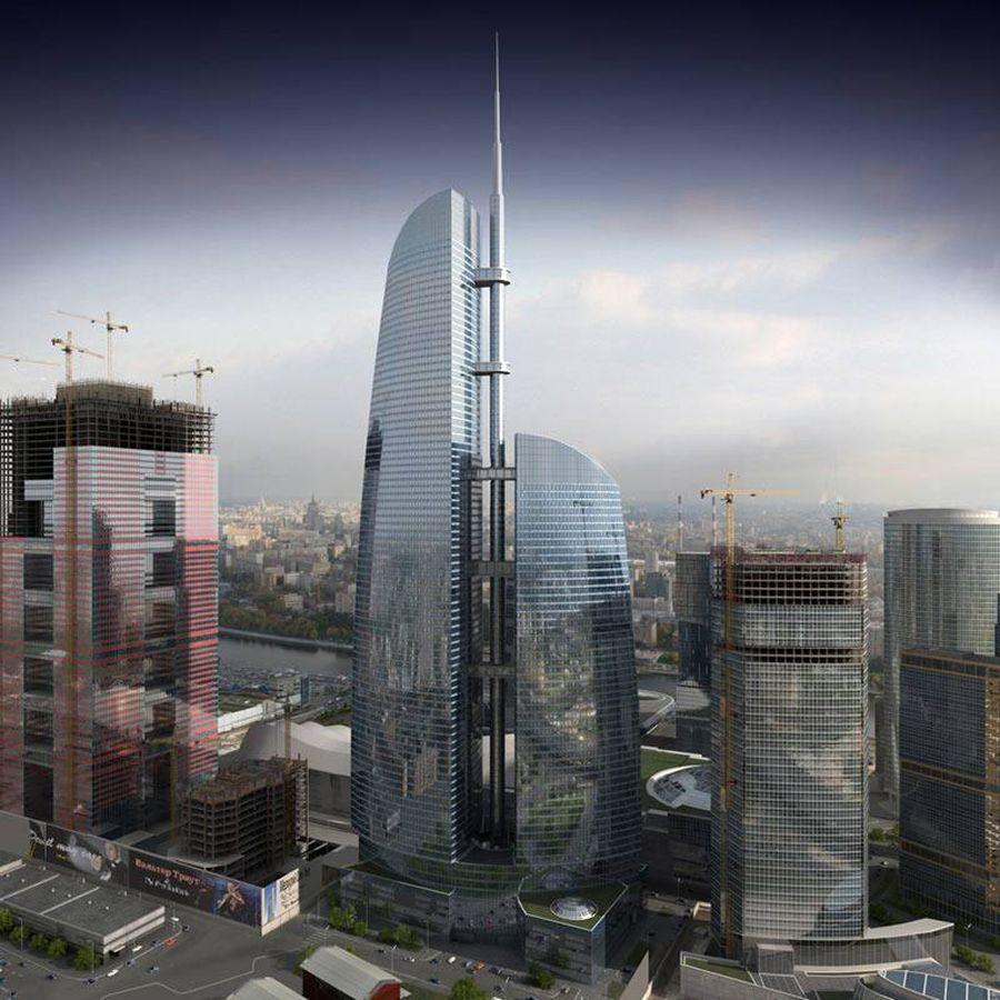 3. Башня «Восток» (высота 373 метра) в «Москва-Сити» Российская столица также отметится в этом году