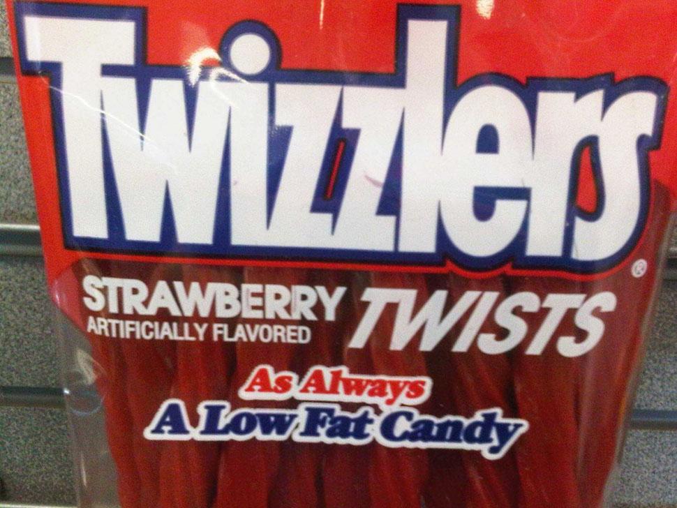 Лакричные конфеты Twizzlers. «Twizzlers такие странные. Они на вкус совсем не похожи на красную лакр