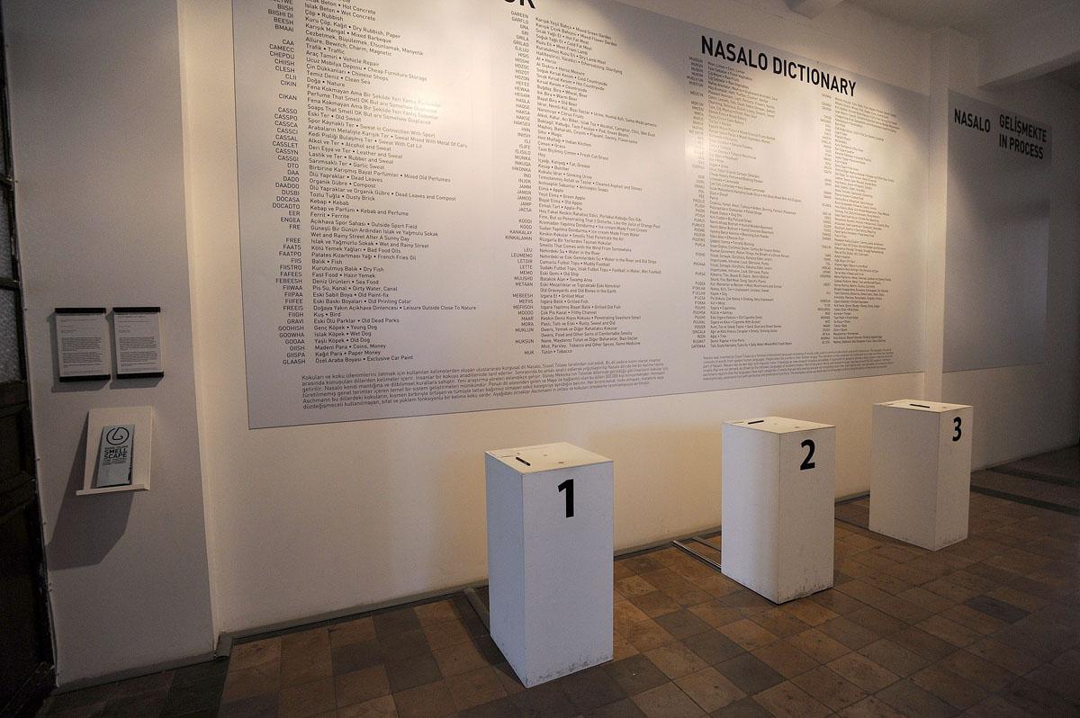 6. Очень интересный проект Sissel Tolaas «Communicate by smell». Идея проекта состоит в том, что мы