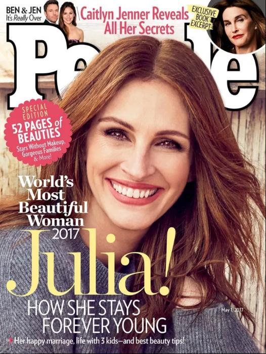 Почему журнал People в пятый раз признал Джулию Робертс самой красивой женщиной мира (23 фото)