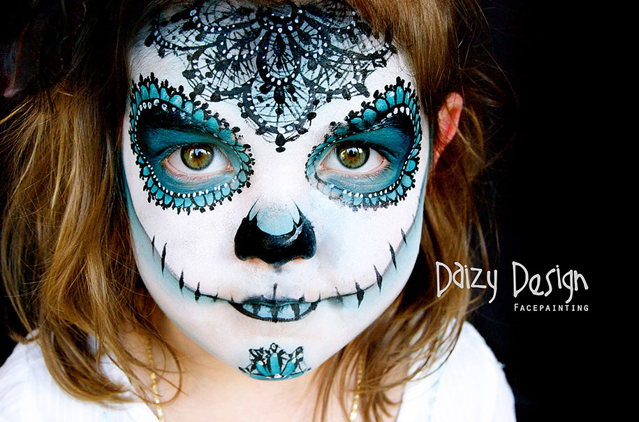 Детский face-painting от Кристи Льюис