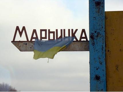 ВМарьинке впроцессе обстрела пророссийскими боевиками ранены два волонтера