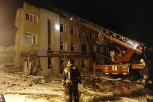 ВМЧС назвали вероятную причину пожара вбане вВоронеже