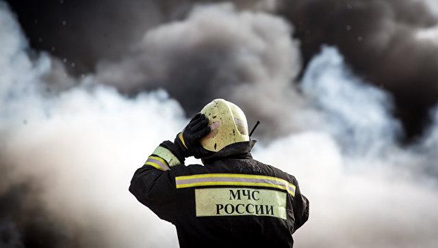 Пожар вспыхнул вкомпании поутилизации боеприпасов наУрале