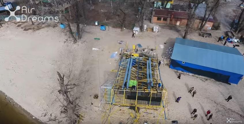 ВКиеве начали срезать троллей над Днепром, сотрудники подозревают рейдерство
