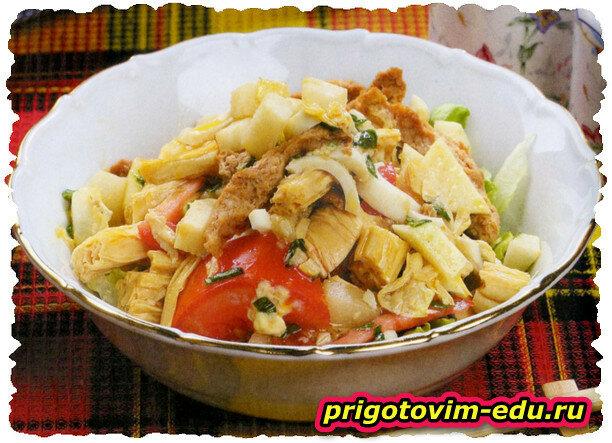 салат старорусский с говядиной рецепт с фото