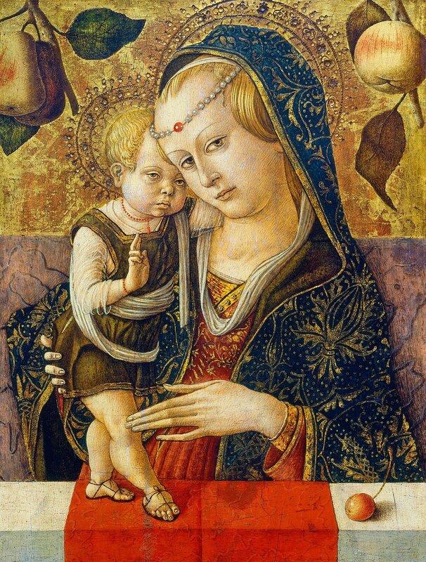 Итальянская религиозная живопись XV века: художник Карло Кривелли