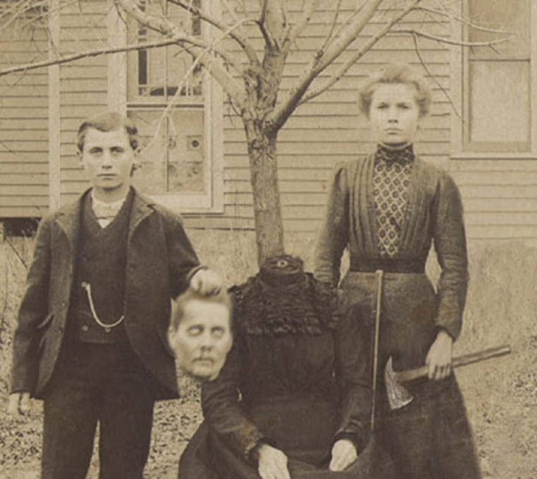 Long before Photoshop - The strange headless portraits of the 19th century