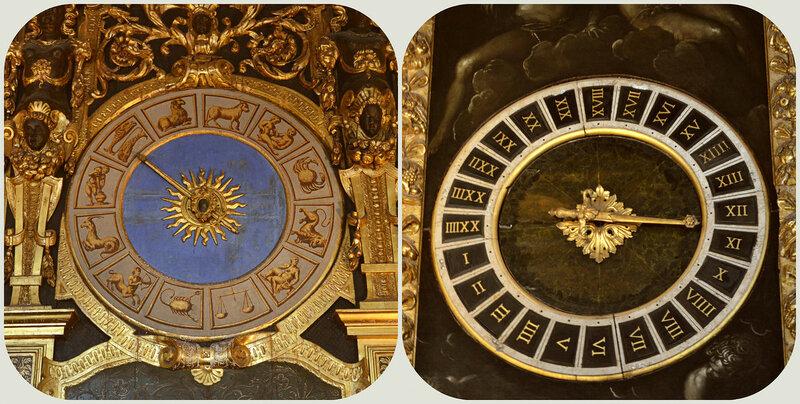часы во дворце Дожей