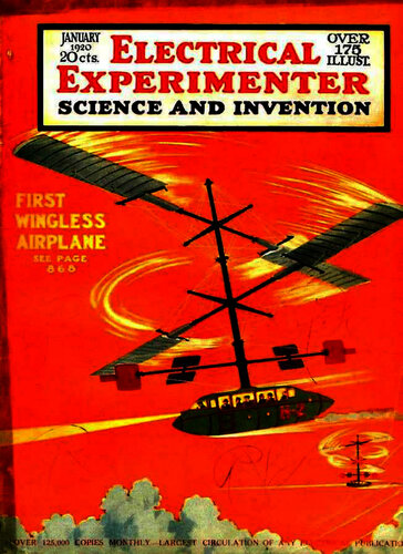 Electrical Experimenter: 1920 January - - Book Cover