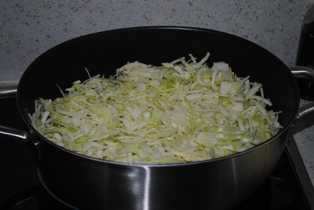 Как потушить капусту с курицей в сковороде пошаговый рецепт