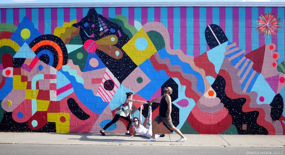Boatos que essas 5 mulheres desbancam ate Banksy no graffiti
