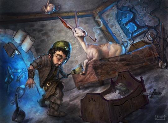 Fantasy Illustrations by Scott Altmann