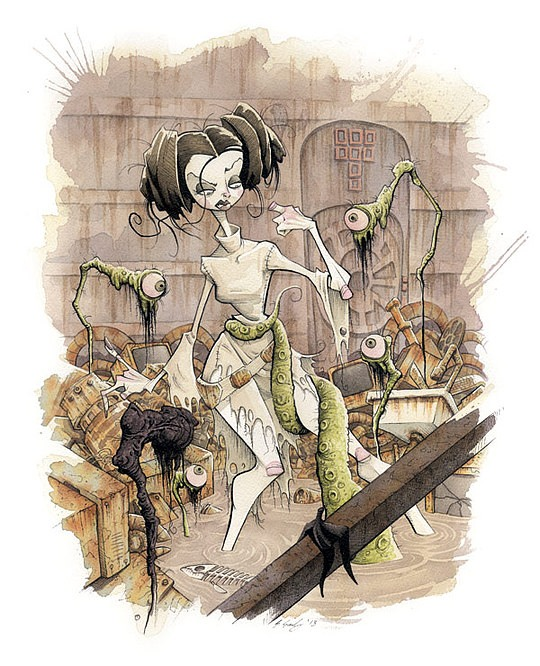 Original Illustrations by Gris Grimly