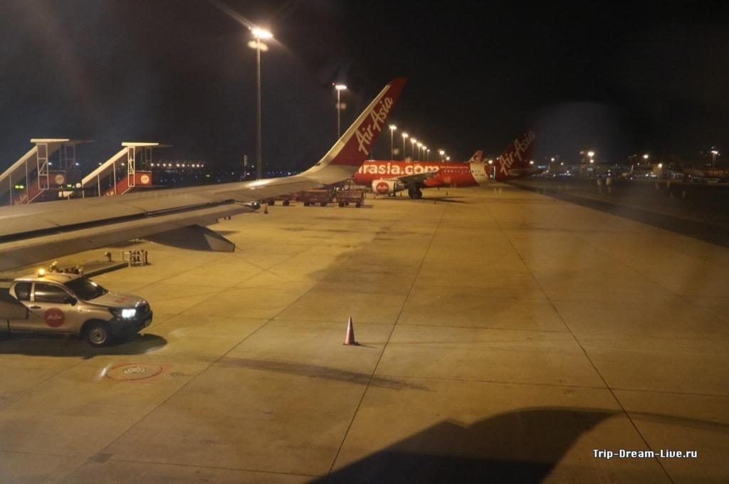 В самолете на пути в Кочи