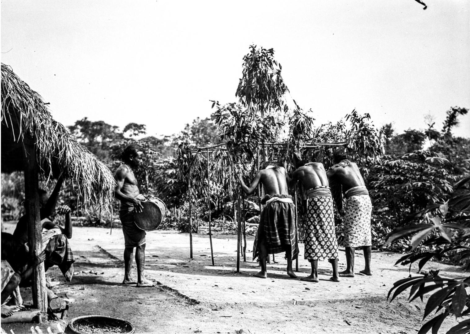 395. Мадугалла. Ритуальный танец лесных веддов