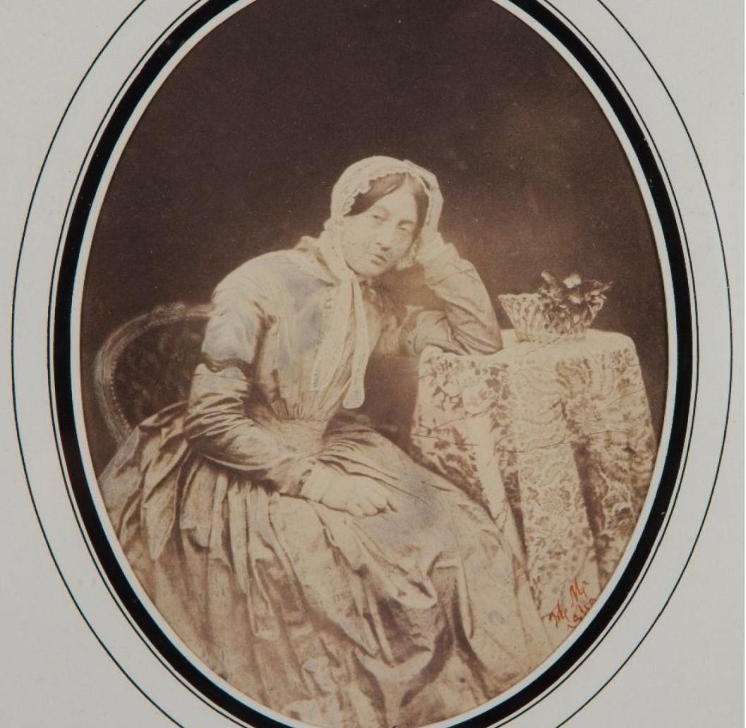 1849. Портрет Луизы Молар