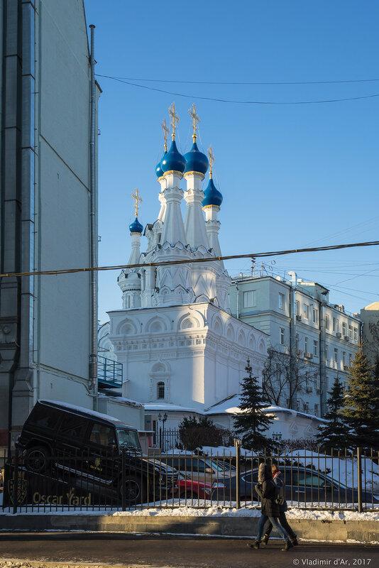 Храм Рождества Пресвятой Богородицы в Путинках