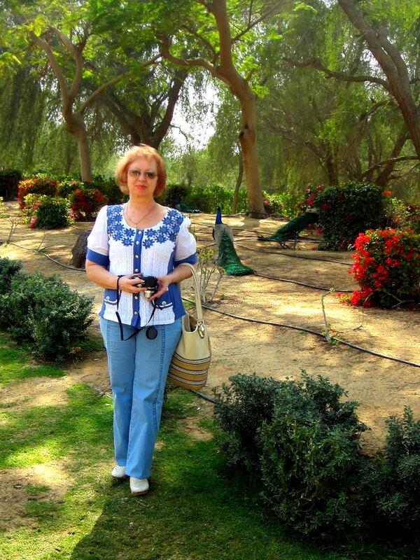 В парке шейха Дубая