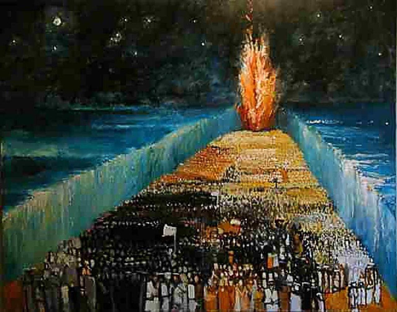 Richard McBee, Исход из Египта. Exodus -  (1999) 1280пикс.