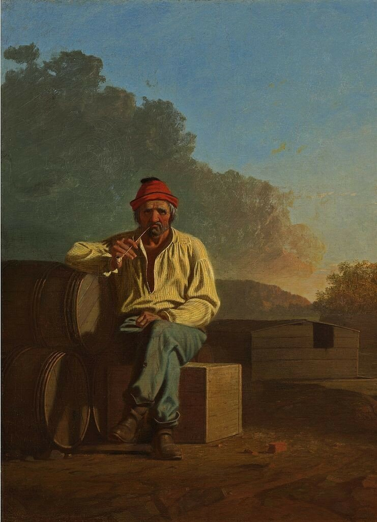 741px-George_Caleb_Bingham_-_Mississippi_Boatman1850.jpg