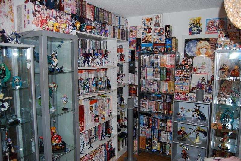 Комната фаната аниме и манга
