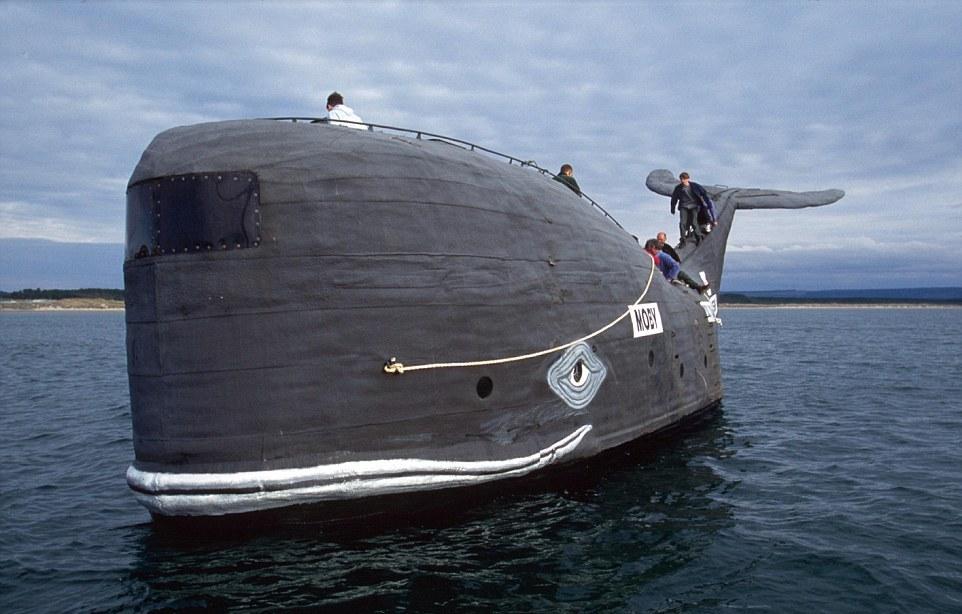 Странные и необычные водные транспортные средства