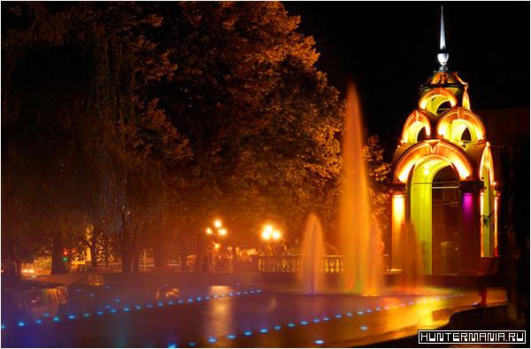 Хрустальная струя в Харькове