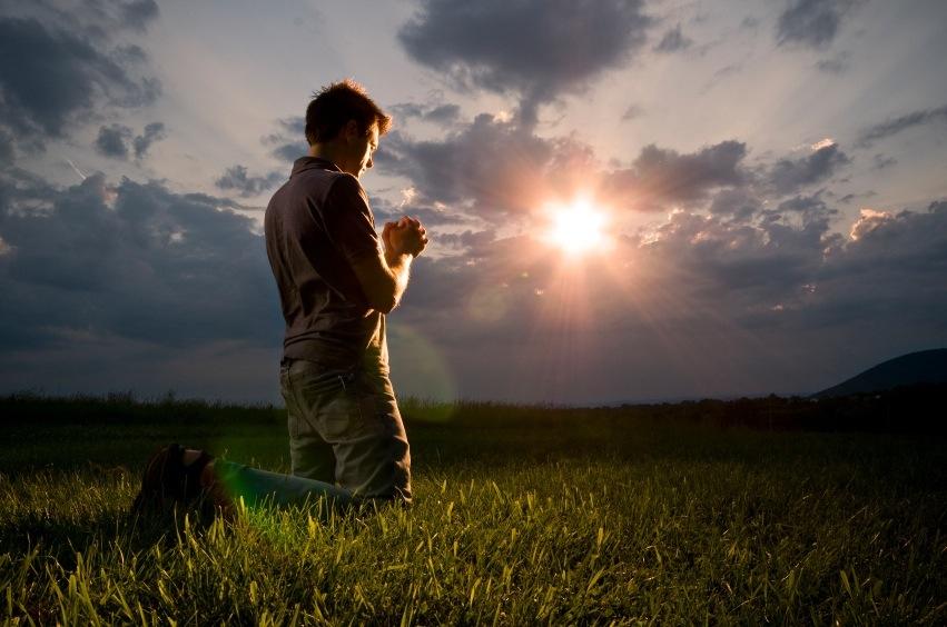 Искренняя молитва.