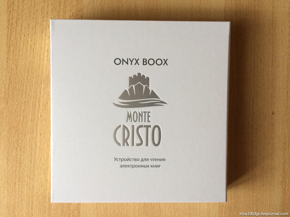 букридер ONYX BOOX Monte Cristo